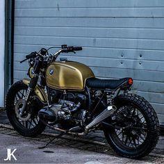 by @jacksonkunis #custom #bike #motorcycle #bratstyle #scrambler #caferacer #bmw #boxertwin #instamoto #stocksucks #builtnotbought #saintmotors #saint_motors by saint_motors http://overboldmotor.co