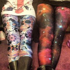 Day of the dead and pink galaxies
