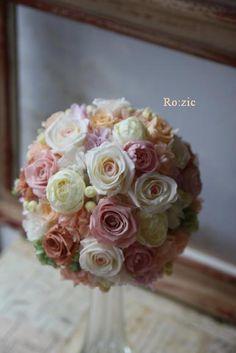 Ro:zic die floristin:ウェディング 花冠
