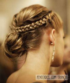penteados tranças claudinha stoco 1 Penteados com trança!