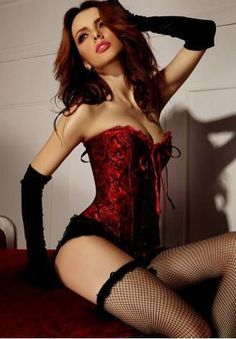 Geisha Goddess Burlesque Corset