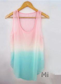 Wish | Tie Dye Tank Top For Summer
