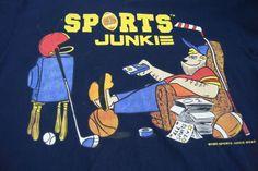1995 Sports Junkie Vintage T-shirt