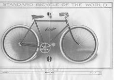Pope Manufacturing Company Columbia Bicycles , 1912 Bicycle Model 212,  Image number:SIL-038-10-17