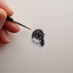 Small cat tattoo project