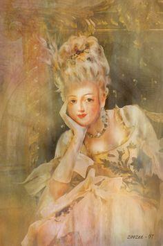 Marie Antoinette by zoozee