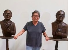 The First Nations Sculpture Garden is nearing completion and preparing for a tentatively scheduled public showing on September 15 in Rapid City, South Dakota.