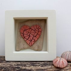 Are you interested in our framed heart mosaic picture? With our handmade unique heart mosaic you need look no further.