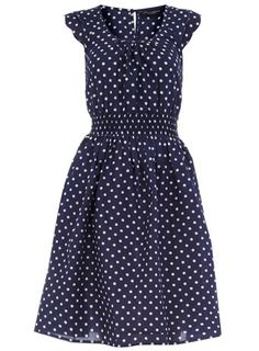 For my love of polka dots.