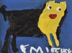 Emitte Hych, Outsider Art, Folk Art, Outsider Art Fair, Intuit
