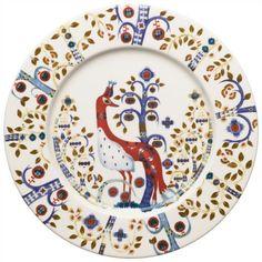 Piatto piano in vetro porcellanato Taika - d 22 cm Kartell, White Plates, Home Living, Salad Plates, Katana, Plate Sets, Joss And Main, Dinner Plates, Crystals