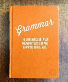 Keeping this to help certain co-workers with their writing skills.