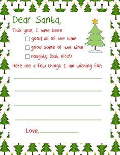 Santa Christmas Letter - Letter To Santa intended for Santa Letter Template Word - Best Template Design Christmas Letter Template, Santa Template, Letter Template Word, Invoice Template Word, Letter To Santa, Best Templates, Design Templates, Santa Christmas