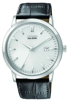 Citizen men's watches : Citizen Men's BM7190-05A Eco-Drive Stainless Steel Watch