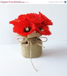 19 best poppy arrangement ideas images on pinterest floral poppies table decor red black poppy decoration silk flowers reception artificial flowers table centerpiece flower arrangement elegant fabric mightylinksfo