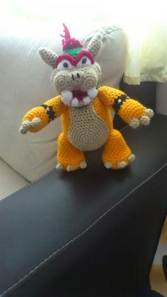 Amigurumi Mario Bros Espanol : Amigurumi crochet patron de dragon Sant Jordi ...
