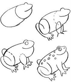 how to draw a frog: inkspired musings: It's hard to be green...