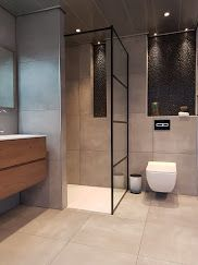 Contemporary Bathroom Design - Interior Decor and Designing Contemporary Bathroom Designs, Modern Bathroom, Small Bathroom, Beige Bathroom, Bathroom Ideas, Bad Inspiration, Bathroom Inspiration, Best Bath, Shower Remodel
