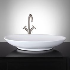 Caroli Oval Vessel Sink