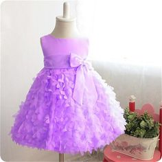 >> Click to Buy << Toddler Baby Girl Summer Dress Princess Kids Dresses Girl Infant Party Wear Children's Clothing Girls Fairy Petals Wedding Gown #Affiliate