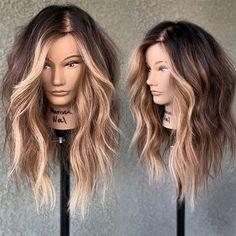 Bayalage, Balayage Hair, Blonde Peekaboos, Blonde Underneath Hair, Underneath Hair Colors, Highlights Underneath Hair, Natural Hair Styles, Short Hair Styles, Hair Color And Cut
