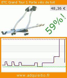 ETC Grand Tour 1 Porte vélo de toit (Sport). Réduction de 59%! Prix actuel 48,36 €, l'ancien prix était de 119,00 €. https://www.adquisitio.fr/etc/grand-tour-1-porte-v%C3%A9lo