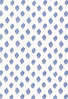 5005231 Bakara Leaf Delft Schumacher Wallpaper you can purchase this pattern online for less plus samples available. Thanks for shopping Mahones Wallpaper Shop for pattern Remember Mahones Wallpaper Shop only sells hand materials straight from Schumacher Motifs Textiles, Textile Patterns, Textile Prints, L Wallpaper, Pattern Wallpaper, Bathroom Wallpaper, Pretty Patterns, Color Patterns, Prints And Patterns
