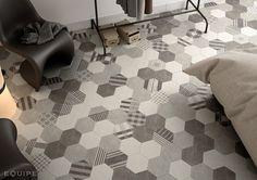 Equipe Hexatile - керамическая плитка фабрики Equipe (Испания), все элементы Hexatile в каталоге Арт Реал