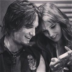 Arejay and Lzzy Hale from Halestorm!