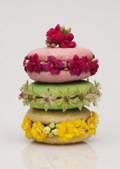 Tea Party Greeting Cards Macaroon Stack