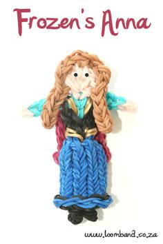Frozen's Anna Loom Band Tutorial, instructions and videos on hundreds of loom band designs. Shop online for all your looming supplies, delivery anywhere in SA.