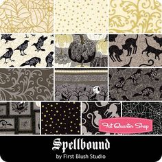 Spellbound Fat Quarter Bundle First Blush Studio for Henry Glass Fabrics - Fat Quarter Bundles  | Fat Quarter Shop