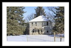 #iowa #photography #fineart #art #gifts Another Lonely Winter By Bonfire Photography
