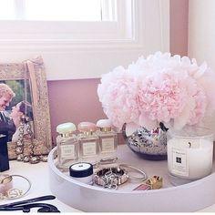 Makeup Organization | Dressing Table | Decoration | Vanity Table | Romm | Bedroom | Home | Design | Closet | Penteadeira | Quarto: