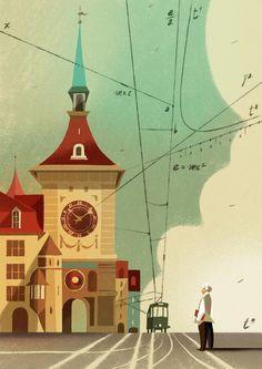 Illustrazione per AD Architectural Digest - Riccardo Guasco 2015