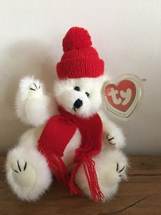 d85702c093b Peppermint The Polar Bear TY Beanie Baby New With Tags PRISTINE Condition  1993. Ty BeanieBeanie BabiesPolar BearPeppermintPlushiesMintBaby ...