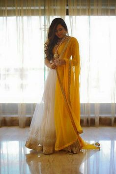 outfit for haldi ceremony