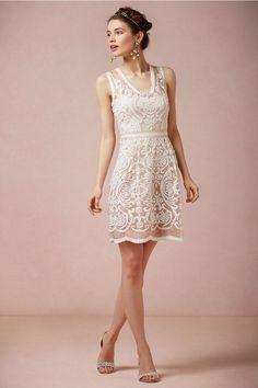 Short Wedding Dresses: BHLDN - Munaluchi Bridal Magazine