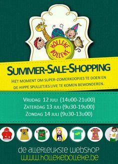 Summer Sale Shopping @ Holleke Bolleke -- Koersel -- 12/07-14/07