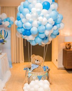80 Cute Baby Shower Ideas for Girls - Baptism - ShowerIdeas # for # Girls . - 80 Cute Baby Shower Ideas for Girls – Baptism – - Deco Baby Shower, Cute Baby Shower Ideas, Baby Shower Decorations For Boys, Boy Baby Shower Themes, Baby Shower Balloons, Baby Shower Centerpieces, Baby Shower Parties, Baby Shower For Boys, Safari Centerpieces