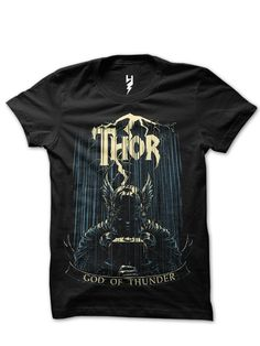 Thor from XTEAS In Norse mythology, Thor (from Old Norse Þórr) is a hammer-wielding god associated with thunder, lightning, storms, oak trees, strength, the protection of mankind, and also hallowing, healing and fertility.