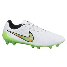 19980c745 Nike Magista Opus FG - White Black Total Orange Poison Green. Soccer Stop · Nike  Soccer Cleats