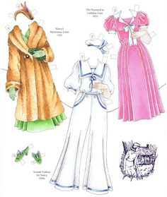 CLASSIC NANCY DREW and NANCY DREW /& FRIENDS Paper Dolls SPECIAL OFFER 2 Books