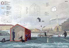 Shelter for homeless Layout, Shelter, Taj Mahal, Competition, Building, Travel, Planks, Arquitetura, Viajes