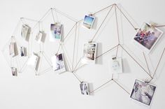 The washi tape wall frames - one of the most simple, yet creative and fun idea!