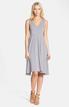 Eileen Fisher sleeveless cotton jersey dress available from Nordstrom.