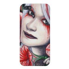 Amaryllis Girl iPhone 5 Case  $37.95