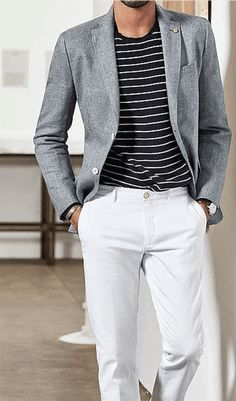 Men's fashion guide: Styling The White Pants