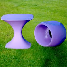Get outdoor furniture.  It's Italian and purple!  Serralunga 1825 is the company