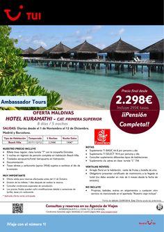 Oferta Maldivas.Hotel Kuramathi. Madrid y Barcelona del 1/11-12/12.Precio final desde 2.298€ ultimo minuto - http://zocotours.com/oferta-maldivas-hotel-kuramathi-madrid-y-barcelona-del-111-1212-precio-final-desde-2-298e-ultimo-minuto-2/